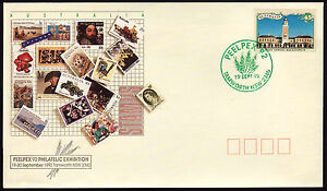PEELPEX 92  Opening Day green cancel FDC with Kalgoorlie PO   •  Free Post  •