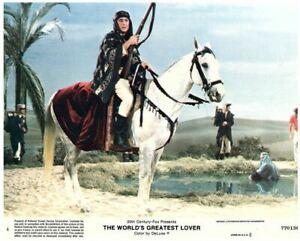 The World's Greatest Lover 8x10 lobby card Gene Wilder on horse