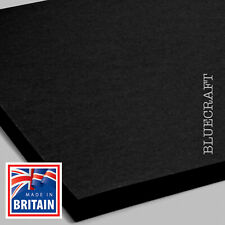 A3 Vanguard Black 320gsm Premium Quality Crafting Card - 297 x 420mm