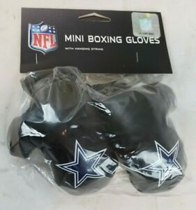 Dallas Cowboys NFL Mini Boxing Gloves Rear view Mirror Auto Car Truck Zeke A58