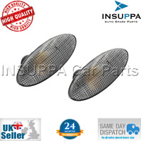 2X TURN SIGNAL SIDE INDICATOR LAMP CLEAR FOR OPEL VAUXHALL VECTRA B MK1 1713008