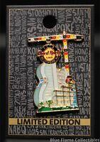 Hard Rock - Hollywood FL - Hotel Construction Guitar Pin (2019) 3RD SERIES