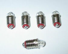 LED Spare Bulbs E5.5 16-24V - 5 Pces New