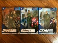 G.I. Joe Classified Lady Jaye - Flint - Zartan IN HAND Ships Immediately