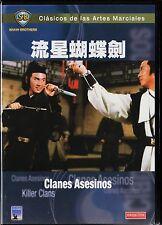 Clásicos de las Artes Marciales: CLANES ASESINOS de Chu Yuan. DESCATALOGADA.