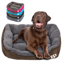 Dog Bed for Small Large Dogs Gray Winter Warm Mattress Nest Kennel Cushion S/M/L