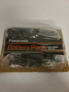 Panasonic Battery Pack LCS-2012P Vintage Camcorder 12V2Ah With Accessories NEW