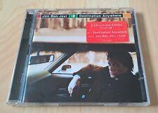 JON BON JOVI - DESTINATION ANYWHERE - LTD. ED. 2CD (EX. cond.)