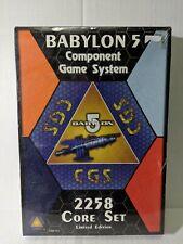 Babylon 5 Component Game System Core Set 2258...New Sealed