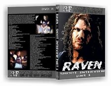 Raven Vol. 1 Shoot Interview Wrestling DVD, ECW WWF WCW