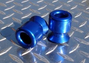 8mm BLUE Swingarm Spools GSXR HAYABUSA TL1000 CBR 600RR 1000RR RC51 675 RC8 ZX10