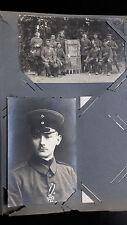 Original Photo album WWI Germany 30 (photos  + photo cards)