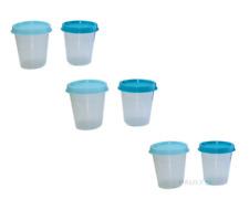 Tupperware 6 Wichtel je 50 ml Liliput Becher Dose Kräuter Kühlschrank Behälter