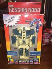 VINTAGE GAKKEN TOY- LEGIOSS, THE HENSHIN ROBO BLUE MODEL PM AFC-01H   <NEW
