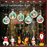 Vinyl Removable Christmas Window Wall Decals Sticker Snowflakes Home Room Decors