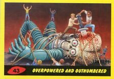 2017 TOPPS MARS ATTACKS YELLOW #/199 OVERPOWERED AND OUTNUMBERED #43