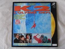 Laser disc   K2 L'ULTIME DEFI  Michael BIEHN  Matt CRAVEN  Raymond J.BARRY