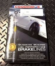 MGF GOODRIDGE STAINLESS STEEL BRAKE HOSE KIT. FRONT AND REAR HOSES.