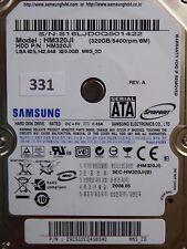 320gb Samsung hm320ji | p/n: 292512cq458542 | 2008.05 | #331