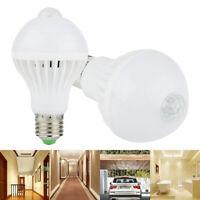 AC 220V E27 5W 7W 9W LED PIR Motion Sensor Auto Lamp Bulb Energy Saving Light