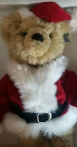 """Annette Funicello Bear Co. """"Bearcicle"""" 11"""" Christmas Bear # C65964 New In Box"""