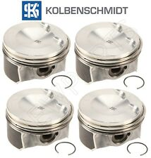 NEW Audi A3 A4 A5 A6 TT Quattro Q3 Q5 VW Jetta Set of 4 Pistons with Rings OEM