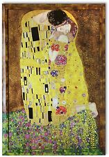Bild Kunstdruck Gustav Klimt Kuss Galeriebild mit Rahmen in XXL PREIS-HIT!