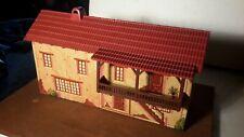 Marx ZORRO HACIENDA BUILDING w/BALCONY Mexican Alamo Western playset