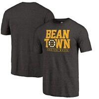 Boston Bruins Fanatics Branded Hometown Collection Tri-Blend T-Shirt - Black