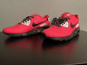 Nike AirMax Hyperfuse Men's Size 8 New Authentic Flash Crimson Black White
