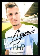 Alessandro Abruscia Autogrammkarte Stuttgarter Kickers 2015-16 Orig Sig+A 110008