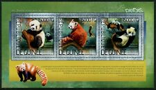 GUINEE - 2014 'GIANT PANDA and RED PANDA' Miniature Sheet MNH [A8942]