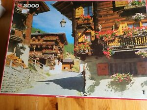 Jigsaw puzzle 2000 pieces used