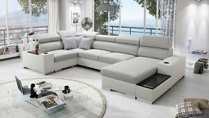 Brand New corner sofa bed with storage Perseo IV mini