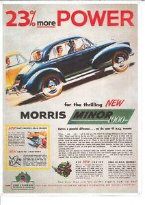 Morris Minor 1000 (696) Metal Sign