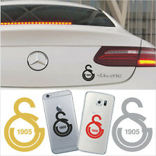 Galatasaray Autoaufkleber Sticker Iphone Samsung Laptop Cim bom 5,0 x 6,5 cm