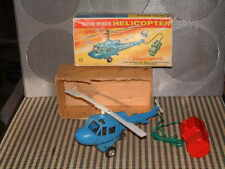 MARX BATTERY OPERATED HELICOPTER IN ORIGINAL BOX/FULLY WORKING/COMPLETE/ORIGINAL