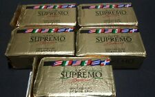CAFE SUPREMO-(((5 Packs of 8.8 oz))-100% ALWAYS FRESH GROUND COFFEE SUPREMO.