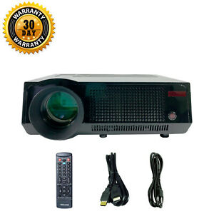 FAVI RioHD-LED-4T LCD Projector HD 1080p HDMI with Accessories bundle