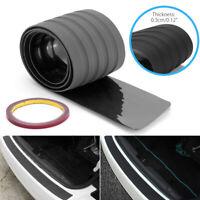 Universal Car Rear Bumper Protector Sill Body Guard Anti-Scratch Rubber Strip UK
