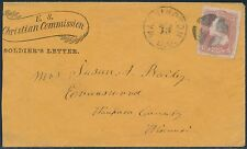 #65 ON US CHRISTIAN COMMISSION SOLDIER'S LETTER BS286