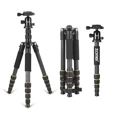 Professional Carbon Fiber Camera Tripod Monopod Ball Head For Digital Camera