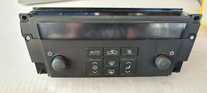 Cadillac STS 2005 Climate Control Panel Switch Assembly Non-Heated Seats A/C OEM