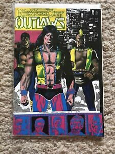 NEW YORK CITY OUTLAWS #5 IN VF CONDITION IMPOSSIBLE TO FIND BY KEN LANDGRAF