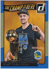 2016-17 DONRUSS THE CHAMP IS HERE: KLAY THOMPSON #4 GOLDEN STATE WARRIORS