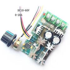 12V 24V 36V 48V 60V 1200W 20A PWM Controller DC Motor Speed Control module