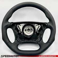 Submerge Flattened Leather Steering Wheel Black Mercedes W210 E-Class Facelift