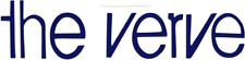8713 Blue The Verve Logo Uk Rock Music Band 90's Rub-on Vinyl Sticker Decal New
