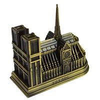 3D Cathedral Notre Dame DE Paris France Tourism Souvenir Metal Model Craft GIFT