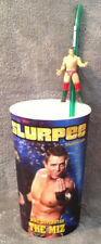 *THE MIZ* WWE All Stars 2011 3D 7-Eleven Slurpee 32 Oz Cup & Action Figure Straw